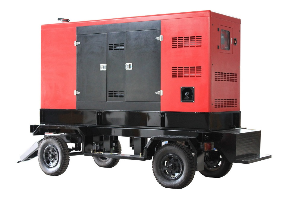 420kw diesel generating set trailer type