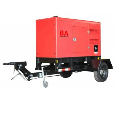 20kw to 110kw Trailer type power generator sets