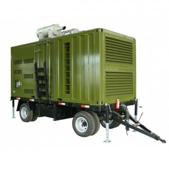 Big power Trailer type generator sets